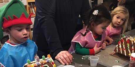 All ages: Traditional Gingerbread House Decorating! tickets