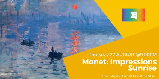 Free event: Private Monet Tour at the NGA