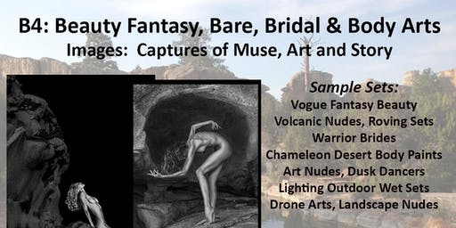 B4: Beauty Fantasy, Bare, Bridal and Body Arts, Images in the Desert