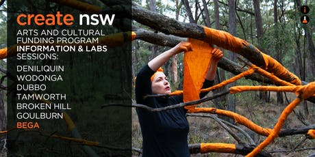 Arts and Cultural Funding Program Information + Lab Session - Bega tickets