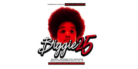 """BIGGIE 25 : Celebrating 25 years of """"Ready To Die"""" and Biggie Smalls tickets"""