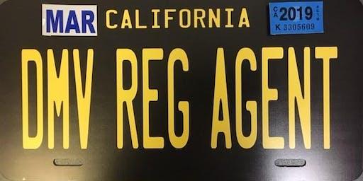 Stockton DMV Registration Agent Training