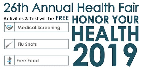 Honor Your Health 2019! tickets