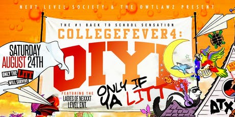 #CollegeFever4: OIYL tickets
