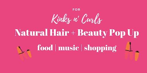 Natural Hair+ Beauty Pop Up Shop- Accepting Vendors(OAKLAND)