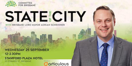 Annual Lord Mayor's State of the City Address - Lord Mayor Adrian Schrinner tickets