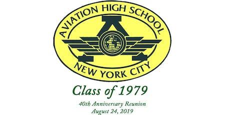 Aviation High School Class of 1979 40th Reunion tickets