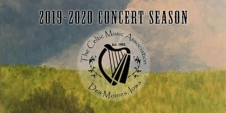 Season Tickets - Celtic Music Association 2019-2020 Concert Series tickets