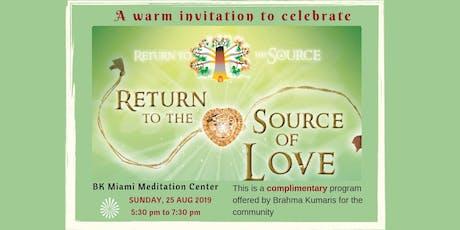 Raksha Bandhan Celebration - Return to the Source of Love  tickets