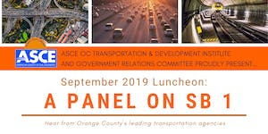 ASCE OC T&DI and Government Relations - September 2019...
