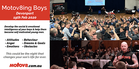 Motov8ing Boys - Devonport  tickets