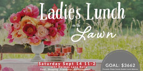 Ladies Lunch on the Lawn tickets