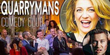 Quarrymans Comedy Club tickets