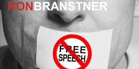 Ron Branstner - American Free Speech vs. United Nations Resolution 16/18 Blasphemy Laws tickets