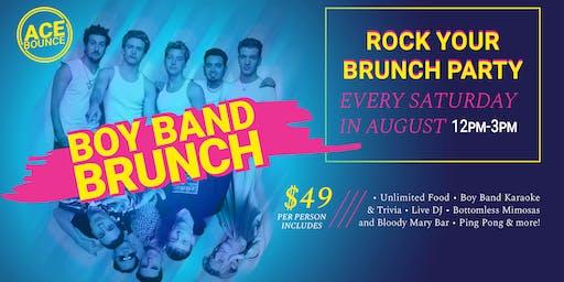Boy Band Brunch at AceBounce (8/24)