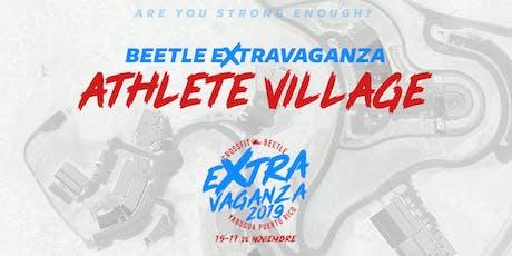 BEETLE EXTRAVAGANZA ATHLETE VILLAGE tickets