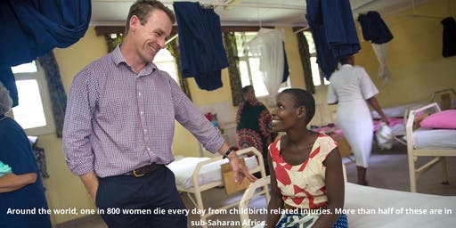 Supporting Maternal Health in Africa - Lunch with Dr Andrew Browning
