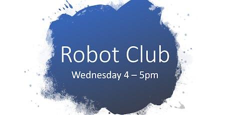 Robot Club Term 4 tickets