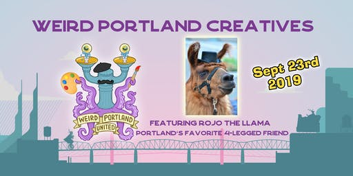 Weird Portland Creatives with Rojo the Llama