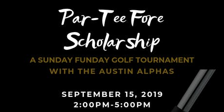 Par-Tee Fore Scholarship tickets