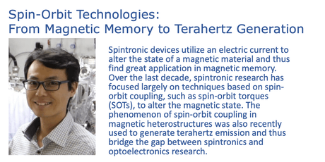 Spin-Orbit Technologies: From Magnetic Memory to Terahertz Generation tickets