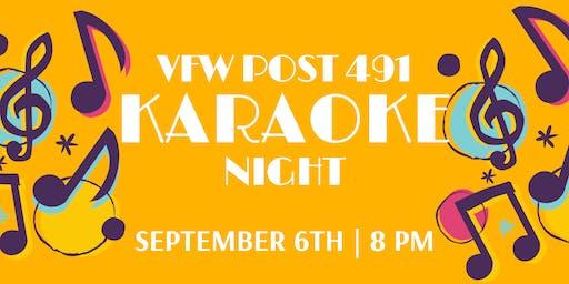 Karaoke Night @ VFW Post 491