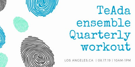 TeAda Ensemble Quarterly Workout tickets