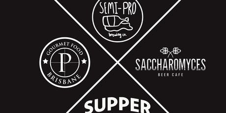 Semi-Pro / Saccharomyces / The Press - Supper Club tickets