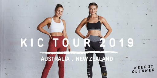 Keep it Cleaner Workout (Auckland) with Steph Claire Smith & Laura Henshaw