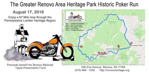 Greater Renovo Area Heritage Park Historic Poker Run
