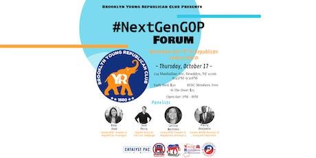 Brooklyn Young Republican Club #NextGenGOP Forum tickets
