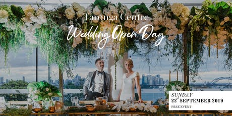 Taronga Centre Wedding Open Day tickets