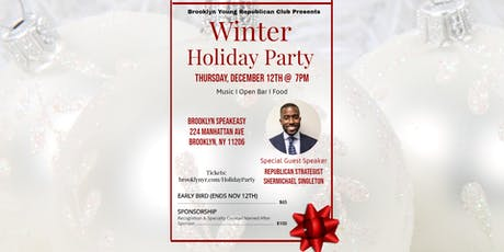 Brooklyn Young Republican Club Holiday Party With Shermichael Singleton tickets