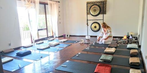 Gong Bath Sound Healing & Meditation in Estoril