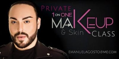 GUAYNABO - PRIVATE MAKEUP CLASS - ONE ON ONE