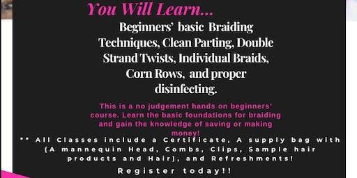 Beginners' Braiding Class