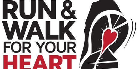 Run & Walk for your Heart 5K 2019 tickets