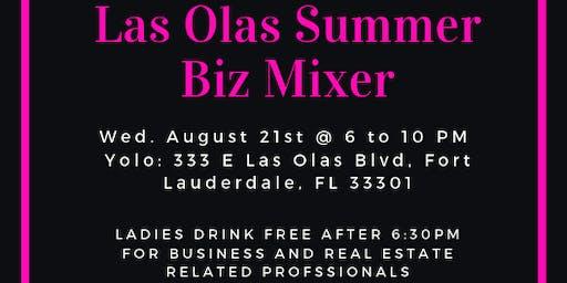 Las Olas Summer Biz Mixer