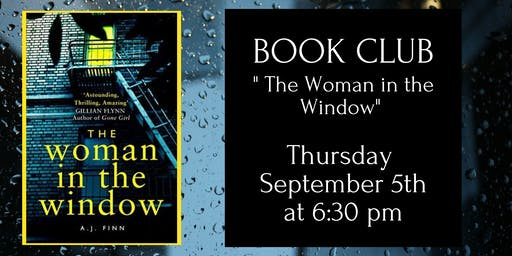 Book Club - The Woman in the Window