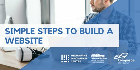 Simple Steps to Build a Website - Campaspe tickets