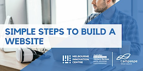[CANCELLED WORKSHOP]: Simple Steps to Build a Website - Campaspe tickets