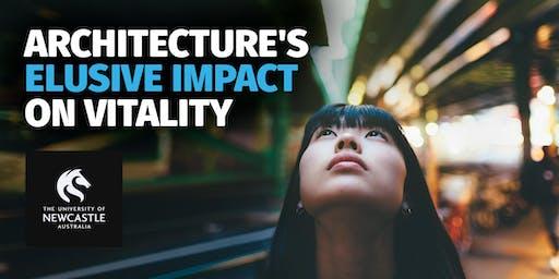 New Professors Talk 2019 | Architecture's Elusive Impact on Vitality