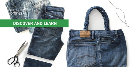 EVENT RESCHEDULED - Upcycled Denim - Redcliffe Library tickets