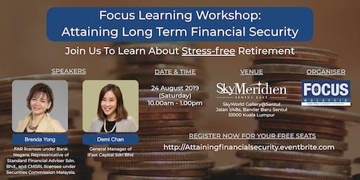 Attaining Long Term Financial Security