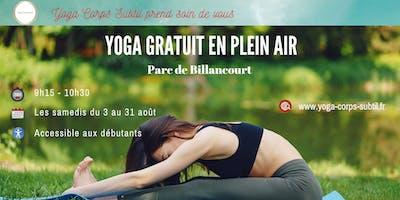 Yoga Gratuit en plein air