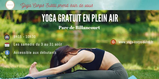 Yoga Gratuit en plein air