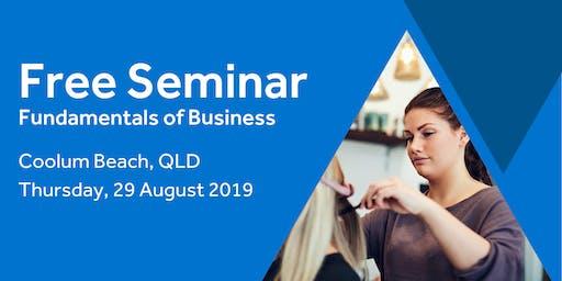 Free Seminar: Business Basics 101 – Coolum Beach 29th August