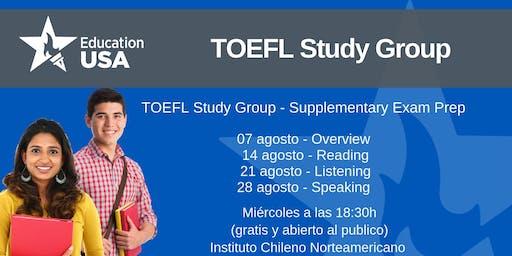 TOEFL Study Group Agosto
