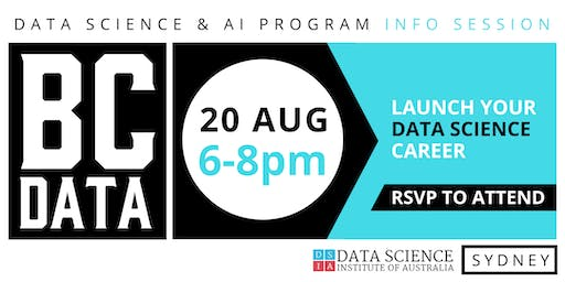 Career Change to Data Science & Artificial Intelligence - Industry Info Session - Sydney