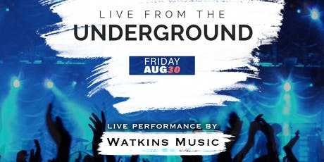 LIVE from the Underground tickets